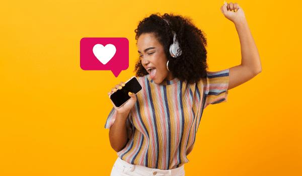 Como colocar musica nos stories do Instagram