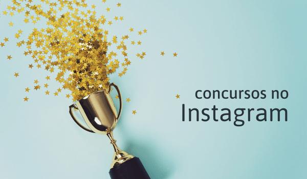 concursos no instagram